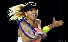 @MariaSharapova is first through to @AustralianOpen Quarterfinals! Beats Bencic 7-5, 7-5! #AusOpen