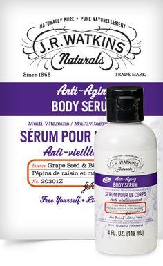 JR Watkins Anti-Aging Body Serum - Item