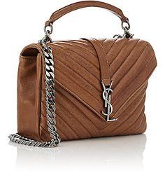 Saint Laurent Monogram Medium Shoulder Bag -  - Barneys.com