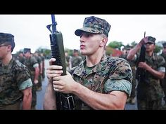 2017 US Marine Corps Recruit Training - MCRD Parris Island Boot Camp - YouTube