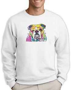 Dog Lover Shirt Animal Bulldog Neon Design Sweatshirt Novelty Gift #FriendsTShirts #SweatshirtCrew
