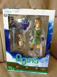 Japan Only Max Factory FIGMA 153 - Legend of Zelda Skyward Sword Link New in box