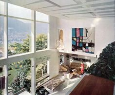 Villa Planchart, Caracas, 1955. Architect: Gio Ponti