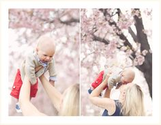 This would have been cute with Carter since he was born on Almond Blossom :)