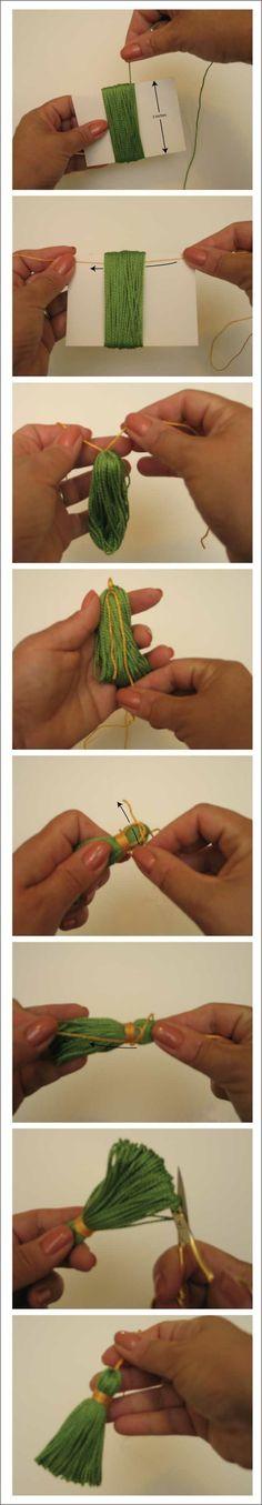 basic tassel tutorial