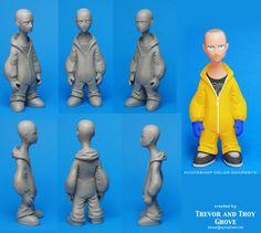 BREAKING BAD toon figures Jesse by TrevorGrove on deviantART