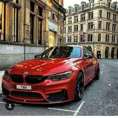 BMW F80 M3 red-- #carinsurance #insurance and more - http://goo.gl/efpOv1