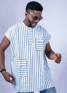 Latest African Wear For Men, Latest African Men Fashion, African Shirts For Men, Nigerian Men Fashion, African Dresses Men, African Inspired Fashion, African Attire, Modern African Clothing, Dashiki For Men