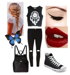 """Everyday outfit "" by ashleyholmes27 ❤ liked on Polyvore"