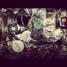 DeMarcoLab exclusive buttons/pins only available in LAB Taipei.