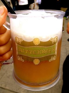 I must try this!! Butterbeer at the Wizarding World of Harry Potter, Orlando, Florida
