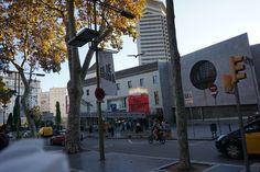 """Carteles de las exposicones de Gil de Biedma y """"Figuras del desdoblamiento"""" en """"Arts Santa Mónica #Barcelona #Cartel #Affiche #Arterecord 2015 https://twitter.com/arterecord"""