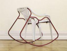 Martino Gamper, à la fois collectionneur, brocanteur, designer. Un petit tour d'horizon de ses créations délirantes.