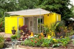 Container House/Cabin. Recycled shipping containers=house.