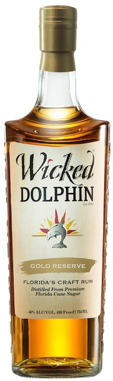 The newest edition to the Wicked Dolphin Rum line is made with 100% Florida sugarcane and has been aged for 3 years in bourbon barrels, the company says.
