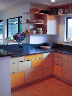 Kitchen view -- Kerf cabinets www.kerfdesign.com #CustomKitchens, #AmazingKitchen, accenthaus.com