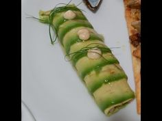 canelon de aguacate y salmon - YouTube