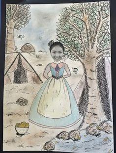 Gold Rush Year 5 Artworks on Art with Mrs Baker