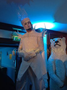 Winter Wonderland themed entertainment to hire - Walkabout Ice King Stilts to h. Corporate Entertainment, Wedding Entertainment, Entertainment Ideas, Ice King, Christmas Images, Christmas Themes, Christmas Parties, Bristol, Karma