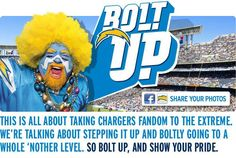 National City businesses are bolting up in support of the San Diego Chargers! You can bolt up too by wearing your Charger gear and shopping or dining at participating businesses in National City tomorrow!  #BoltUpNationalCity #BoltBeliever