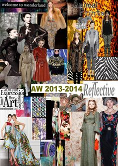 What are the new trends in 2013\2014 fall-winter. I have resumed all the pre fall fashion weeks.