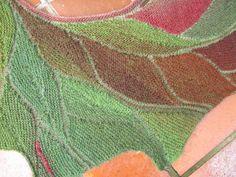 Ravelry: LanArta's Laubhaufen - Heap Of Leaves - variation of Wingspan