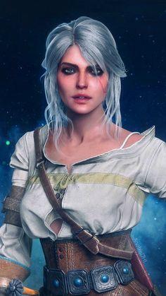 HD Wallpaper 124 Ciri Witcher, Geralt Of Rivia, The Witcher Game, Witcher 3 Wild Hunt, Female Character Design, Character Art, Larp, Ninja Art, I Fall In Love