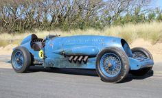 Malcolm Campbell's 1927 Napier Lion Blue Bird LSR car