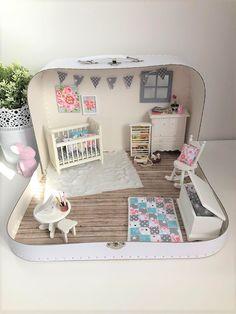 Inspiratie voor poppenhuis koffertjes – Skattich