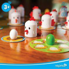 PEEK-A-DOODLE-DOO! Çok eğlenceli hafıza oyunu. Ailecek oynamaya uygun bir oyun. #hafiza #nepman #akiloyunlari #gelisim #anne #annevecocuk #evdeegitim #evdeetkinlik #okulöncesi