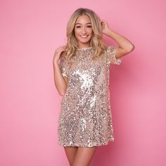 @inthestyleUK : THE party dress of the season 'MADELINE' rose gold only 23.99 with code NYE20 (Also available in gold)  https://t.co/PyZCjcdeF4