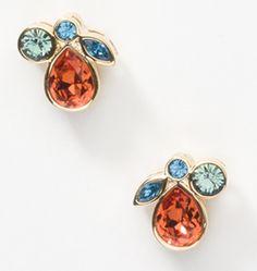 #touchofcolor flora earrings  mytouchstonecrystal.com/jessicar