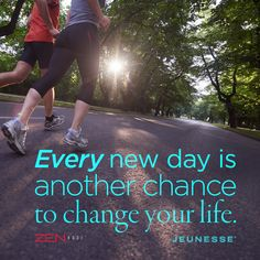 Every new day is another chance to change your life. http://www.patn.jeunesseglobal.com/