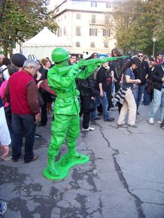Toy soldier at #LuccaComics