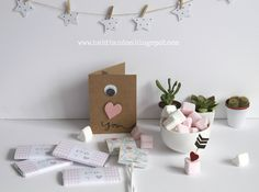 Diys no ñoños para San Valentín, craft, handmade.Diseño gráfico de H A B I T A N 2 http://habitandos.blogspot.com.es