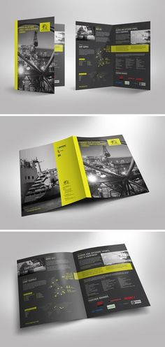 4 Page Brochure for Oil