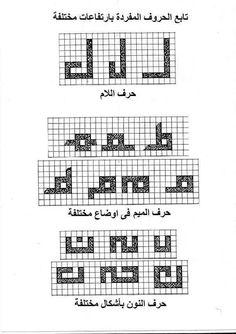قواعد الخط الكوفي المربع Pdf