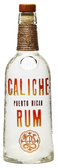 The Caliche rum bottle is a work of art PD