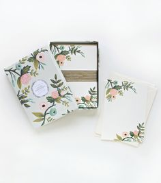 Tech 2: Rifle Paper Co - Antoinette Social Stationery Set