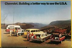 1972 Chevrolet Wagon Chevelle Chevy Van Vega Suburban Color Postcard Original   eBay