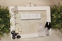 Keilrahmen als Geldgeschenk zur Hochzeit