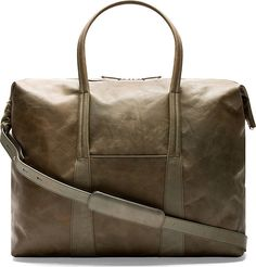 Maison Margiela for Men SS18 Collection. Leather Duffle BagSide ... b5389b5fcb