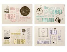 Stationary design for Casa Gracia, Barcelona boutique Hostel   Mayúscula Brands   www.mayuscula.es
