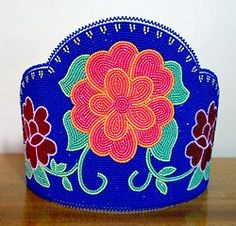 beaded crown from KQ Designs.