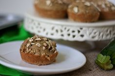 Healthy breakfast ideas for kids - Zucchini and oat muffins via @babycenter #healthybreakfast