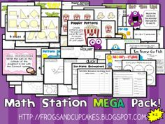 Math Station MEGA Pack! K-2  Hurry up! This giveaway promotion ends at 11:59:59PM CST on 08-10-2012