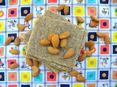 Almond-Oat Groat Crackers