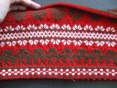 Delsbotröjan i början av mars 2011 Knit Jacket, Sweater Jacket, Fair Isle Knitting, Warm Outfits, Twine, Tartan, Knit Crochet, Sweaters, Cardigans