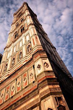 Giotto #Florence Firenze Campanile Prospettiva tramonto sunrise