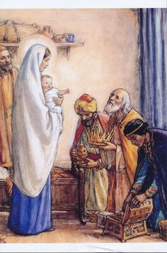 The Adoration of the Magi, by Cicely Mary Barker